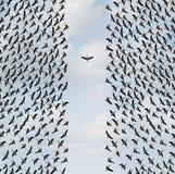 Begrepp av individualism stock illustrationer