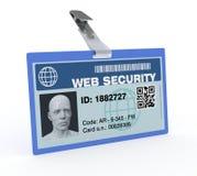 Begrepp av internetsäkerhet royaltyfri illustrationer