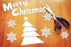 Begrepp av julferier Arkivbilder