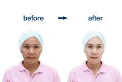 Begrepp av makeup Royaltyfria Bilder