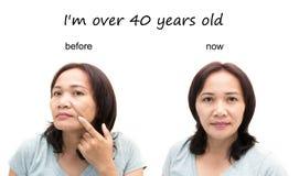 Begrepp av makeup Royaltyfri Bild