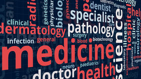 Begrepp av medicin royaltyfri illustrationer