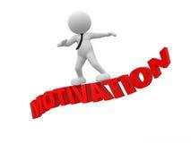 Begrepp av motivationen Arkivfoton