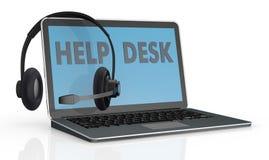 Begrepp av service för hjälpskrivbord