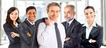 Begrepp av teamwork och partnerskap Fotografering för Bildbyråer