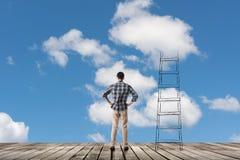 Begrepp av tillträde till moln arkivbilder