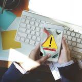 Begrepp för AbEnd för fel för felDisconnectvarning Royaltyfri Fotografi