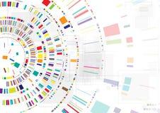Begrepp för affär & utveckling för ny teknik företags Royaltyfri Fotografi