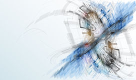 Begrepp för affär & utveckling för ny teknik företags Arkivbilder