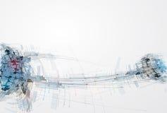 Begrepp för affär & utveckling för ny teknik företags Arkivfoto