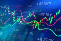 Begrepp för affärsframgång, bakgrund för affärsgraf, aktiemarknadbegrepp vektor illustrationer