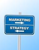 Begrepp för affärsstrategi arkivbild