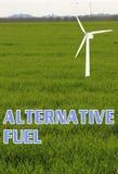 Begrepp för alternativt bränsle arkivbilder