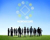 Begrepp för astrologi för tro för horoskopmytologigåta Arkivbild