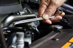 Begrepp för auto reparation Royaltyfri Fotografi