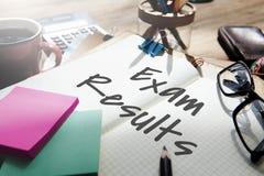 Begrepp för bedömning för granskning för undersökning för examenresultatskola arkivbilder