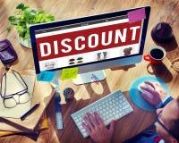 Begrepp för billigt pris för marknadsföring för rabatterat prisbefordran specialt arkivbild
