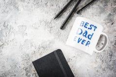 Begrepp för dag för fader` s arkivfoton