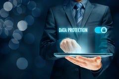 Begrepp för dataskydd Royaltyfria Foton