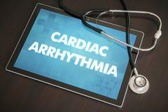 Begrepp för diagnos för hjärt- arrhythmia (hjärtaoordning) medicinskt på arkivfoto