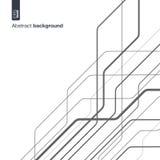Begrepp för Digitalt nätverk Abstrakt bakgrund för vektor med tekniska linjer för grafisk design teknologiströmkrets in stock illustrationer