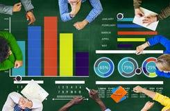 Begrepp för diskussion för idékläckning för mångfaldfolkstrategi Arkivbild