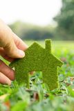 Begrepp för Eco hussymbol Royaltyfri Fotografi