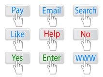 Begrepp för elektronisk betalning Arkivfoton