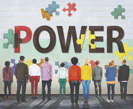 Begrepp för energi för utveckling för maktkapacitetskapacitet royaltyfri fotografi