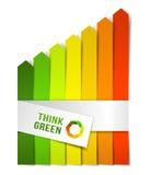 Begrepp för energieffektivitet Royaltyfri Fotografi