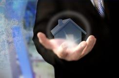 Begrepp för fastighetsinvesteringförtroende Fotografering för Bildbyråer