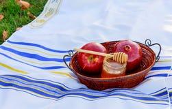 Begrepp för ferie för nytt år för Rosh hashanah judiskt judisk ferie Arkivbilder