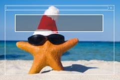 Begrepp för ferie för semester för sommar för kopieringsutrymmeram Arkivfoto