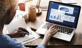 Begrepp för framgång för organisation för affärsdiagram arkivfoton