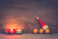 Begrepp för glad jul med text på bakgrund arkivbild