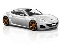 begrepp för illustration för trans. för medel för bil för sport 3D Royaltyfria Foton
