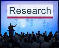 Begrepp för information om forskningutbildningsutforskning royaltyfri fotografi
