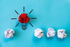 Begrepp för inspiration och för stor idé arkivfoton