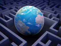 Begrepp för internationellt samarbete. stock illustrationer