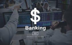 Begrepp för internet för Website för bankrörelsepengar kontant online- Arkivbild
