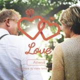 Begrepp för intimitet för romans för förälskelseaffektionpassion royaltyfria foton