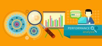Begrepp för kapacitetsanalys stock illustrationer