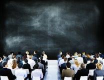 Begrepp för konferens för möte för seminarium för affärsfolk företags Royaltyfria Bilder