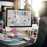 Begrepp för kreditering för pengar för finansnationalekonomibesparingar Fotografering för Bildbyråer