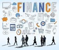 Begrepp för kreditering för pengar för finansnationalekonomibesparingar Arkivfoto