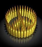 begrepp för kulor 3d Arkivfoton
