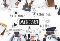 Begrepp för kunskap för erfarenhet för Mindsettrodisciplin Royaltyfria Bilder