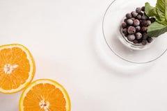 Begrepp för livsstil för matphotoshootfrukt sunt royaltyfri bild