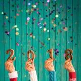 Begrepp 2018 för lyckligt nytt år fotografering för bildbyråer
