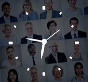 Begrepp för mått för larm för klocka för Tid ledning royaltyfri bild